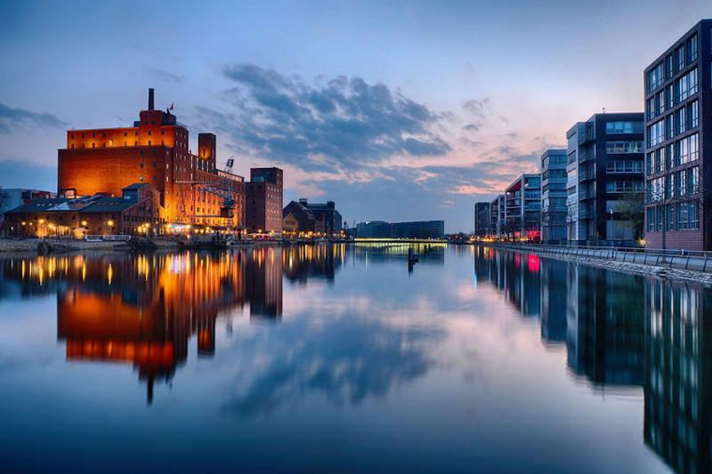 Innerhafen in Duisburg