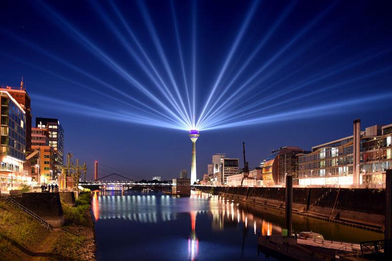Skyline van Düsseldorf