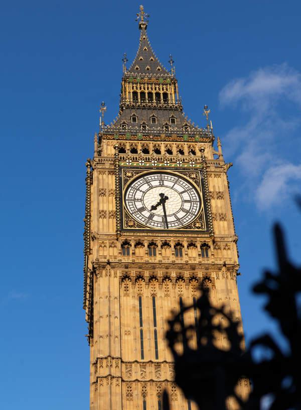 Foto van de Big Ben in Londen