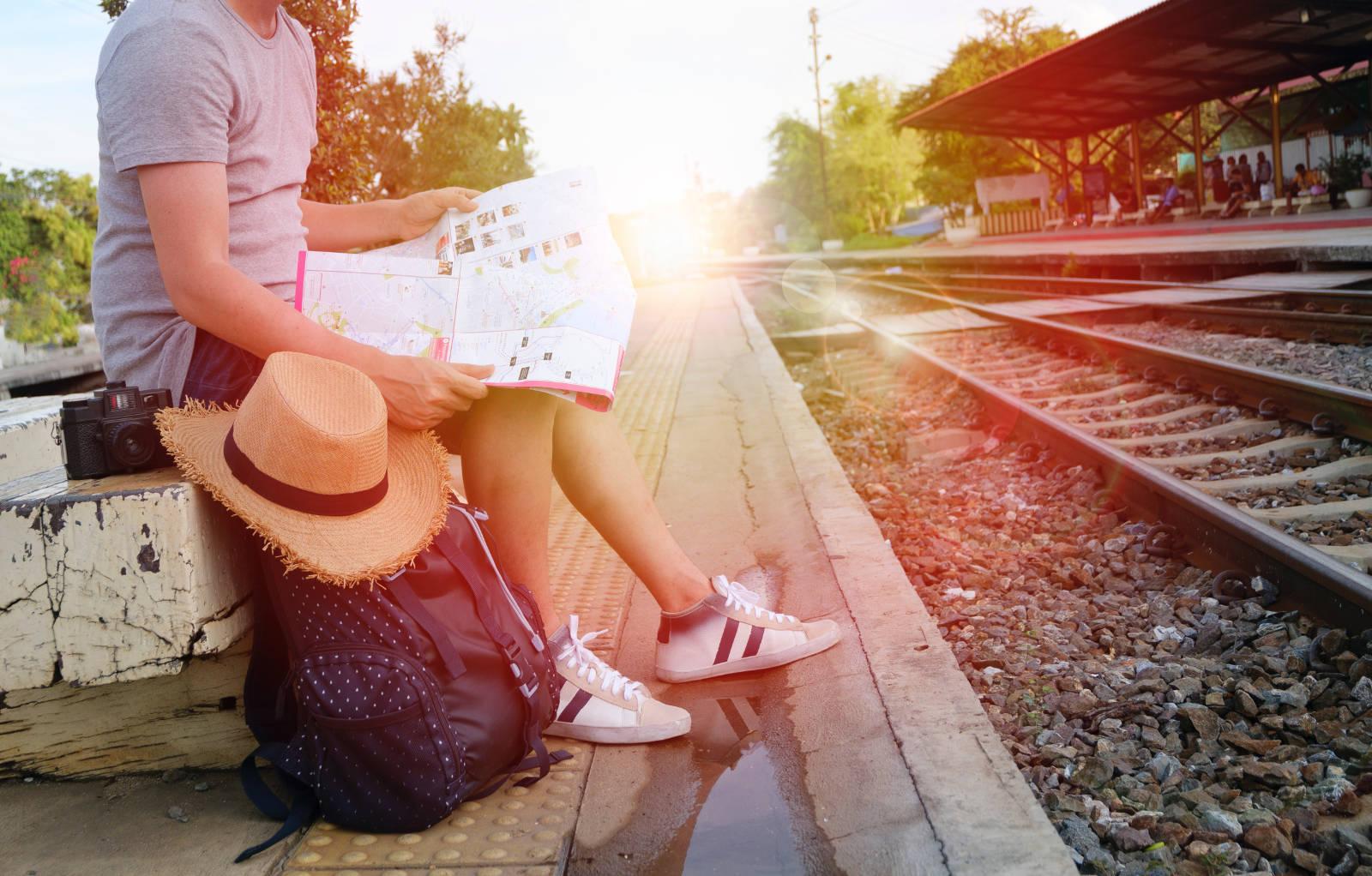 Backpacken met de trein