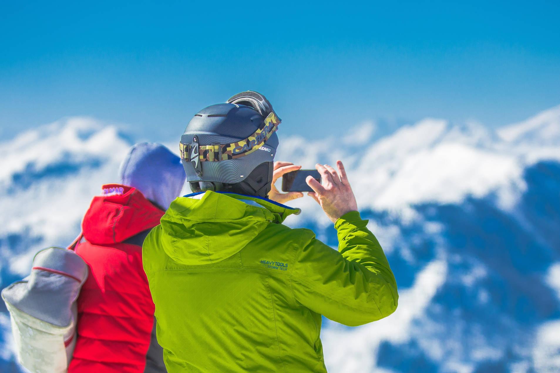 Lekker skiën of snowboarden in de Franse Alpen.