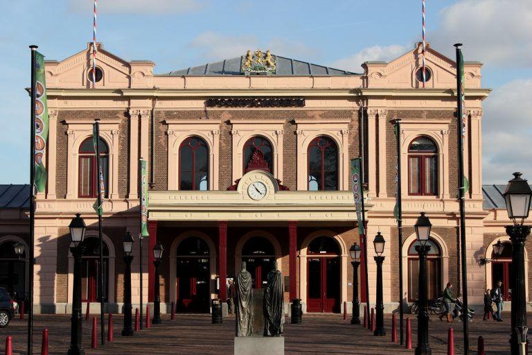 Fietsen spoorwegmuseum utrecht